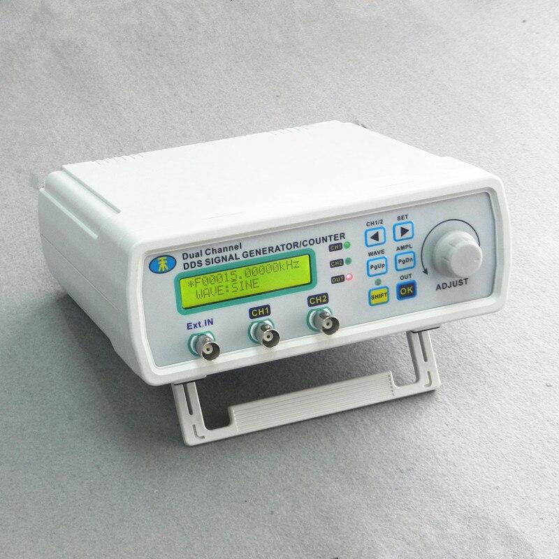 MHS-3200A numérique double canal DDS générateur de Signal générateur de forme d'onde USB TTL logiciel pour sortie triangle carré sinusoïdale 25 MHz