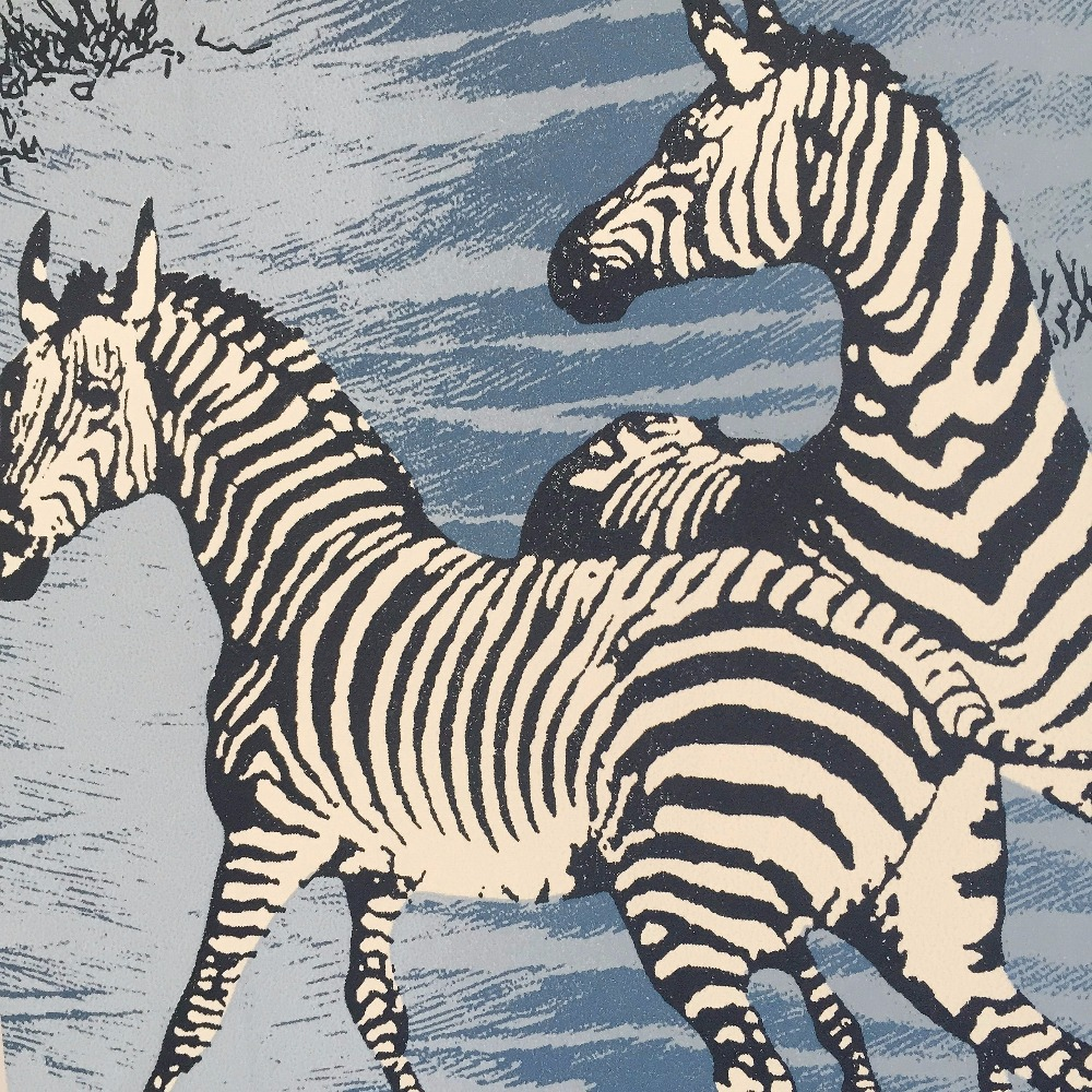 Купить с кэшбэком PAYSOTA Classic Zebra Striped Wallpaper Bedroom Living Room Sofa TV Decoration Wall Paper Roll