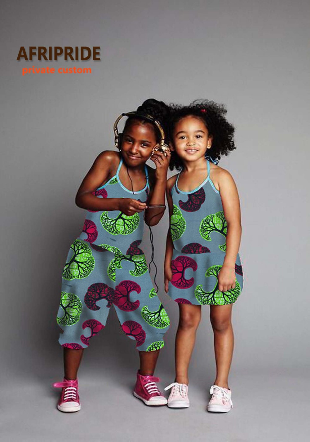 2018 Cute Twinset African Dress For Women African Clothing