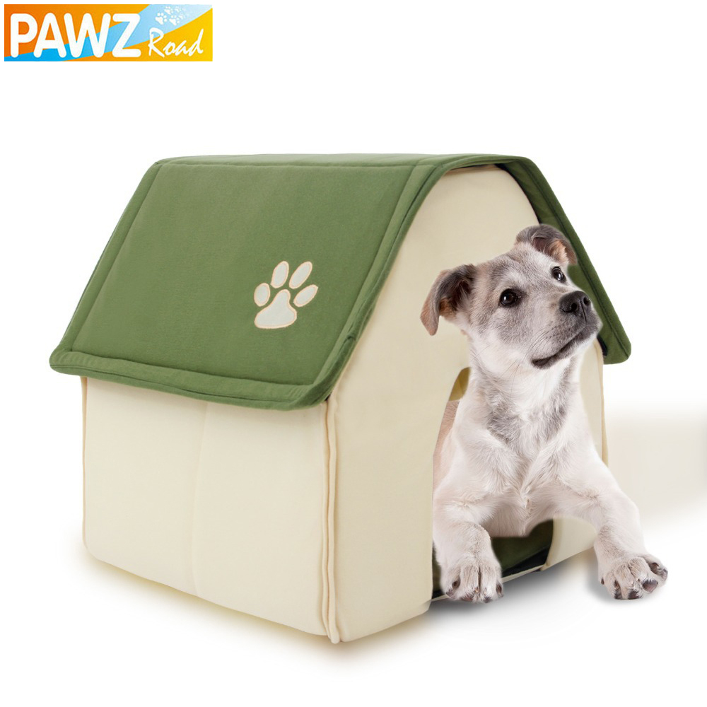 Dog House Red and Green Pet Kennel New Design Easy to Take and Packaged Puppy Cat Room Funny High Quality Beds Free shipping