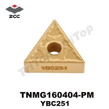 Free Shipping TNMG 160404 -PM YBC251 lathe tools carbide turning inserts CNC turning tools External Turning Tool TNMG160404