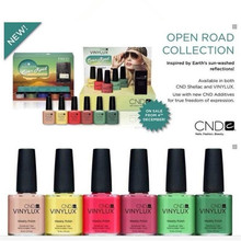 71 colors CND Weekly polish Vinylux Lacquer Nail Polish Gel 15ml .5 fl oz
