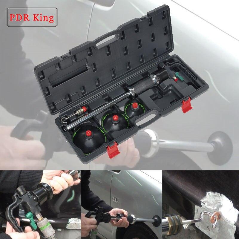 3 taille Air Pneumatique Dent Extracteur Voiture Auto Corps De Réparation Ventouse Glisser Marteau Outil Kit PDR ROI ventouses