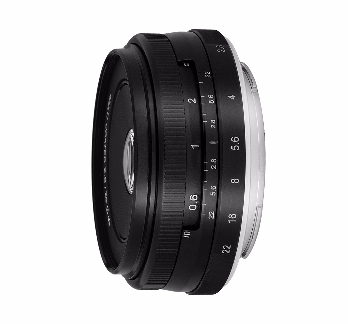 Meike MK-FX-28-f/2.8 28mm f2.8 fixe manuel focus lens pour Fujifilm X Caméra X-T1 X-Pro1 etc