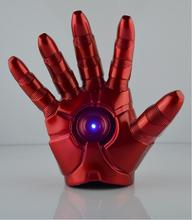 MODEL FANS Iron Man Gloves IRONMAN MK3 gloves perfect version 1 1 movable LED Light Action