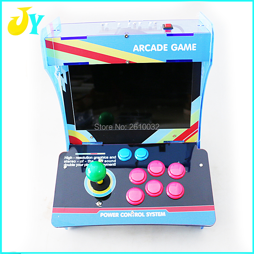 10.4  LCD Mini Table Top Acrylic Arcade Cabinet With New Board 1299 in 1 Jamma PCB With Joystick Buttons C-in Coin Operated Games from Sports ... & 10.4