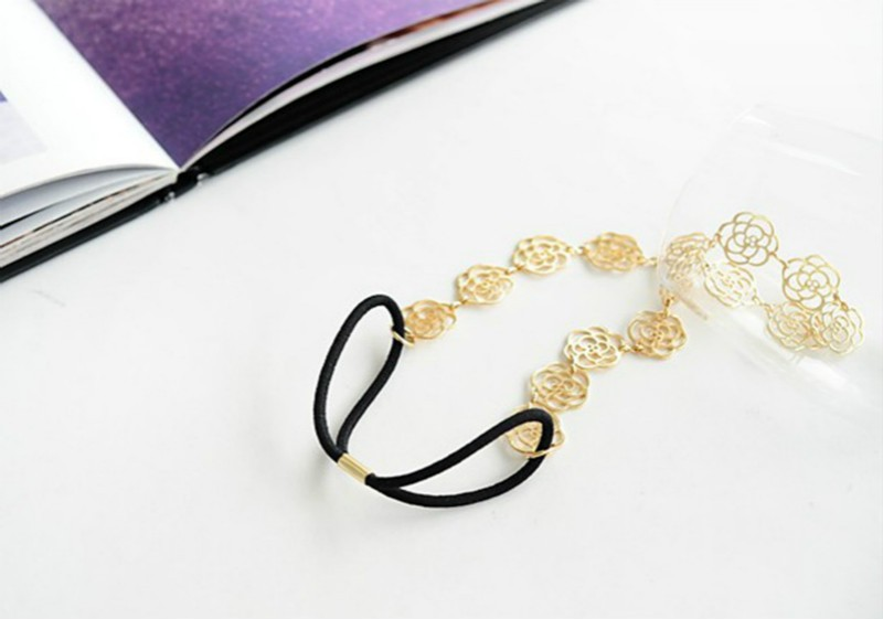 rose flower hair jewelry7