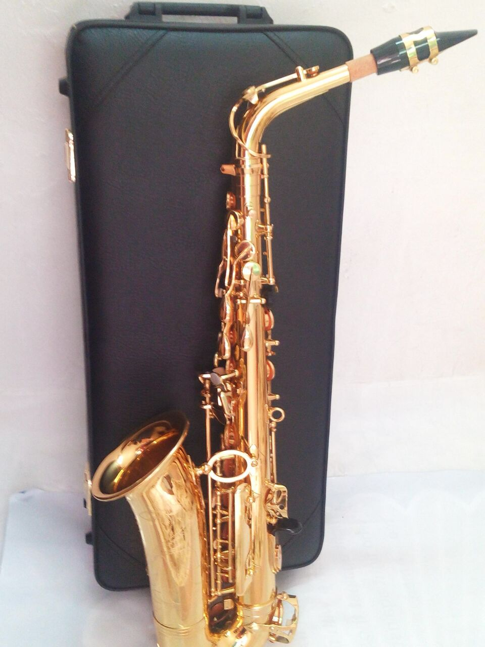 New Saxophone Alto Sax YAS 62 Copy Professional E-flat Gold Saxofone Top Musical Instruments mayer boch