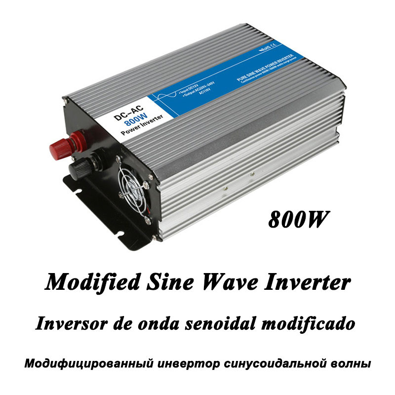 DC-AC 800W Modified Sine Wave Inverter,LED Digital Display,with USB,DC to AC Frequency Converter Voltage Electric Power Supply мультиметр uyigao ac dc ua18