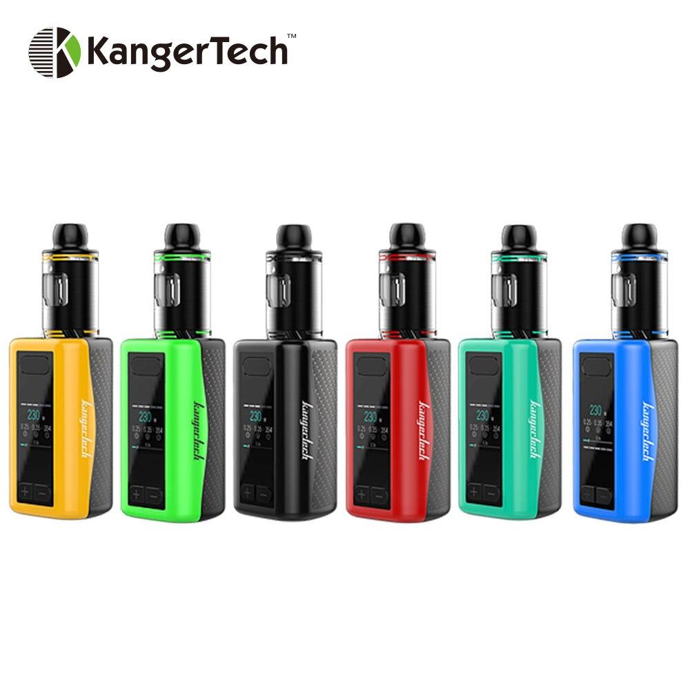 230 W d'origine Kangertech IKEN TC Kit batterie intégrée 5100 mAh avec 4 ml Top remplissage et Top flux d'air IKEN réservoir atomiseur E-cigarette