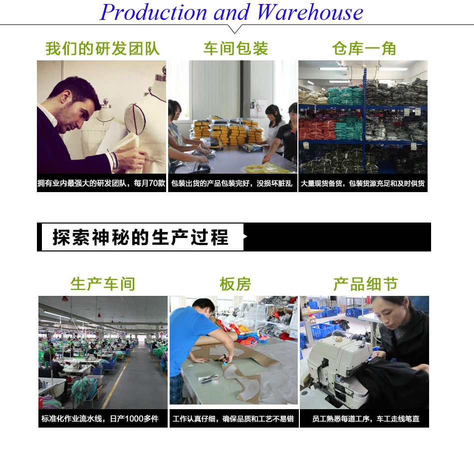 production and warehouse