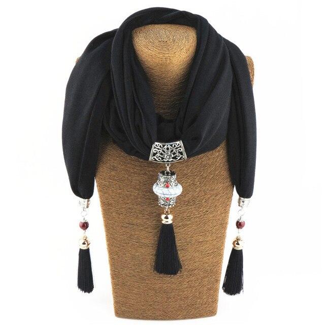 Women's Nepal Queen Necklace Scarf 4
