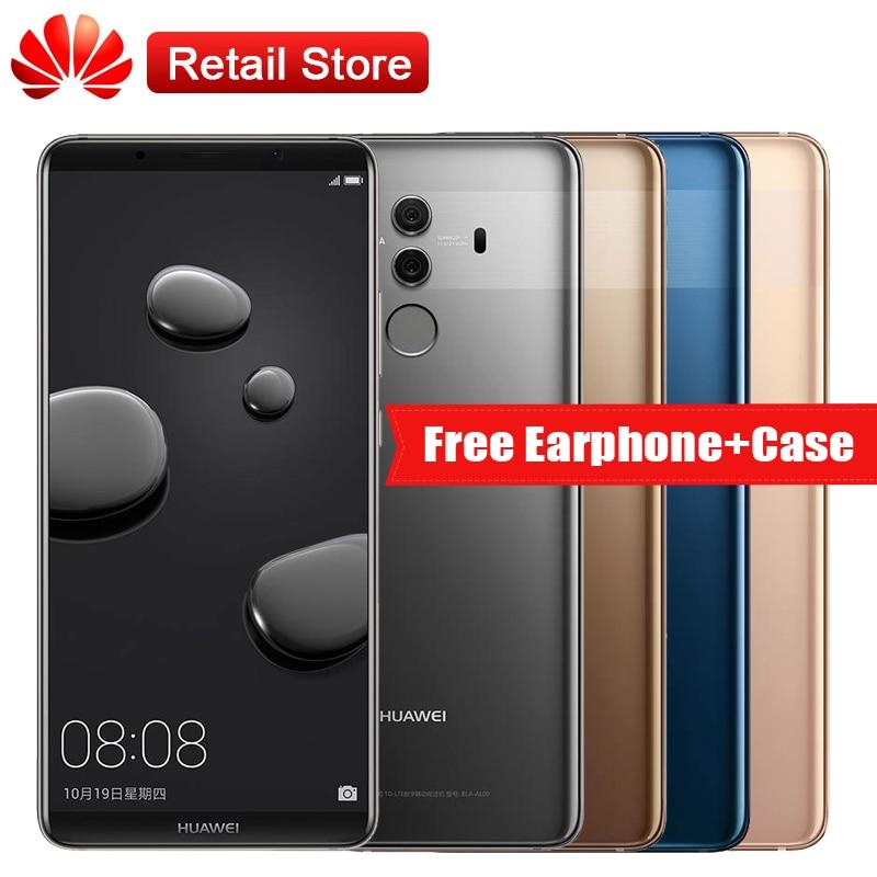 Huawei Mate 10 Pro 6GB RAM 128GB ROM 4G LTE 6 0 Kirin 970 2160 1080