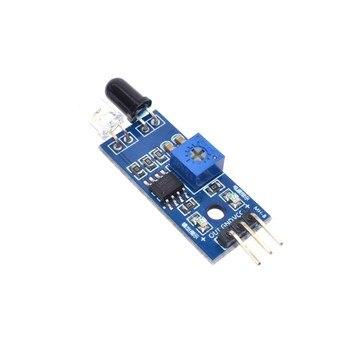 10 sztuk WAVGAT dla Arduino Diy samochód zdalnie sterowany odblaskowe fotoelektryczne 3pin IR podczerwieni unikania przeszkód moduł czujnika