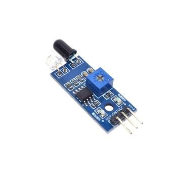 10 шт. WAVGAT для Arduino Diy умный автомобильный робот светоотражающий фотоэлектрический 3pin ИК инфракрасный модуль датчика избегания препятствий