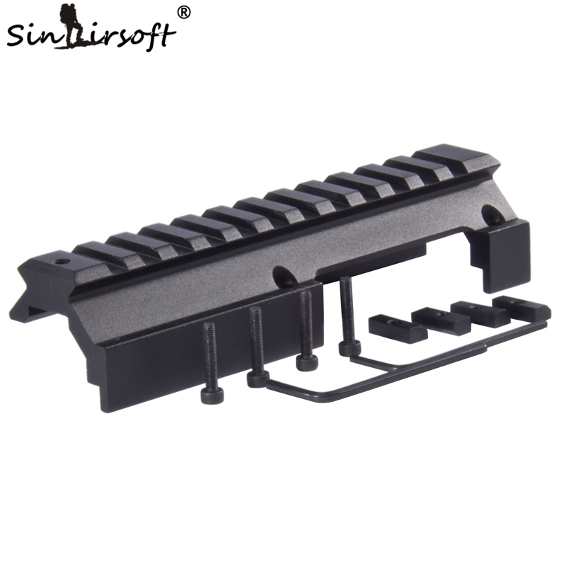 SINAIRSOFT Shooting Paintball Low Profile Universal Rail Scope Mount For Hk-91 H&k G3 GSG-5 MP5 SP89 Hk-91 93 94 & Cetme Rifles