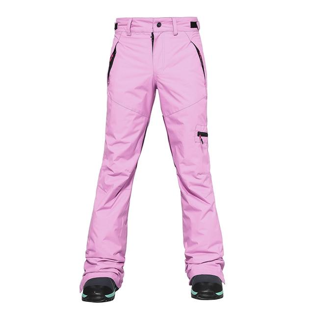 Ski Pants Women Windproof Warm Couple Snow Trousers Winter Ski Snowboard Pants
