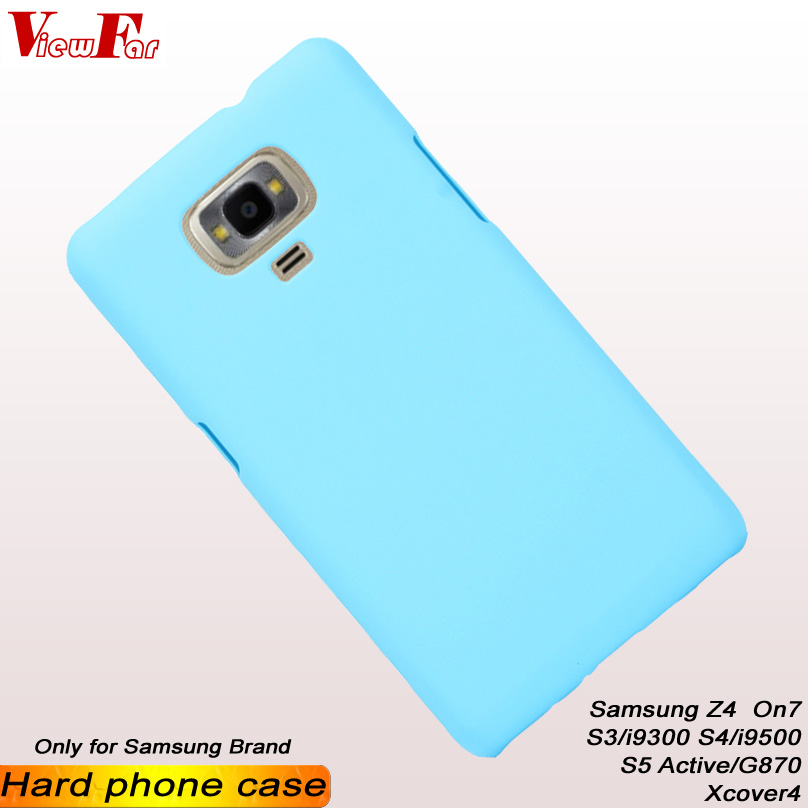 ViewFar Multi Colors Case For Samsung Galaxy Z4 Xcover4 On7 S3 i9300 S4 i9500 S5 Active G870 Matte Cover Hot Sale Hard PC Cases in Fitted Cases from Cellphones Telecommunications
