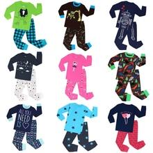 Детские пижамные комплекты, пижамы для мальчиков, детские пижамы, одежда для сна для малышей, одежда для сна из хлопка, домашняя одежда с длинными рукавами, 20 дизайнов
