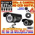 Real 1/3cmos 1200TVL CCTV Color HD Camera Surveillance Outdoor Waterproof Ip66 Infrared IRCUT Night Vision 50M Analog video cvbs