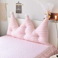 Новое платье принцессы корона дизайн подушки большой поясничной подушки постельные принадлежности декоративные домашний текстиль длинны