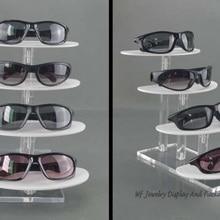 f6ae5a08b5b6a7 Multi-layer Acryl Zonnebril Display Rack Brillen Houder Sieraden Desktop  Plank Armband Vertoningsrek Ketting Showcase