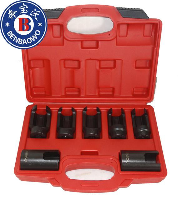 Ferramentas para 7 Pcs BENBAOWO Sensor de oxigênio chave soquete Set oxigênio Injector