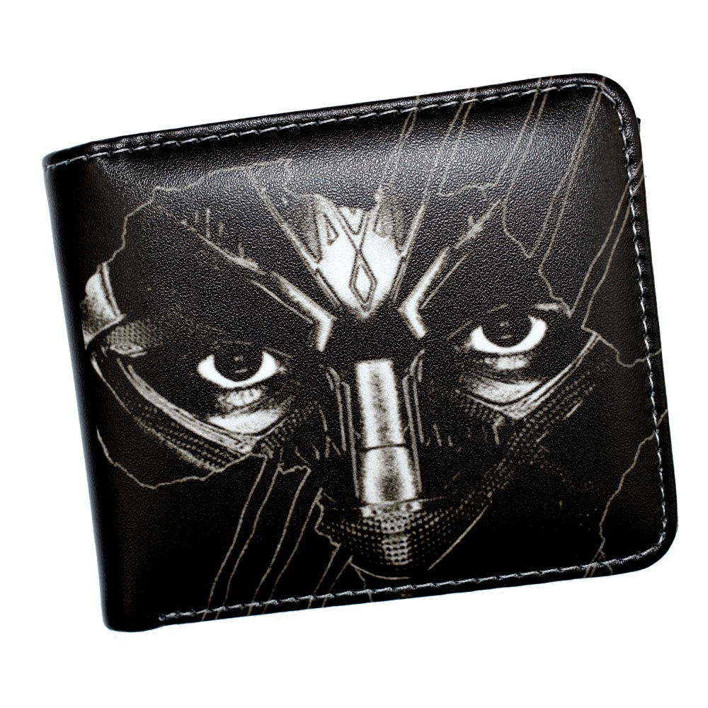 Free Shipping MARVEL Black Panther Wallet