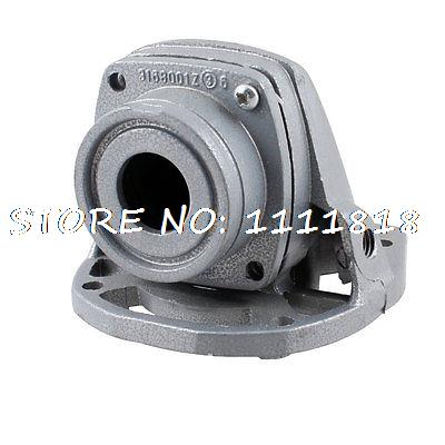 Gray 25mm Inner Dia Aluminum Angle Grinder Head Shell Cover for Hitachi 9523 belux мебель для ванной belux лира 80 l