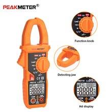 PEAKMETER PM2118 Портативный Смарт AC/DC клещи мультиметр ток напряжение сопротивление непрерывность измерения тестер с NCV