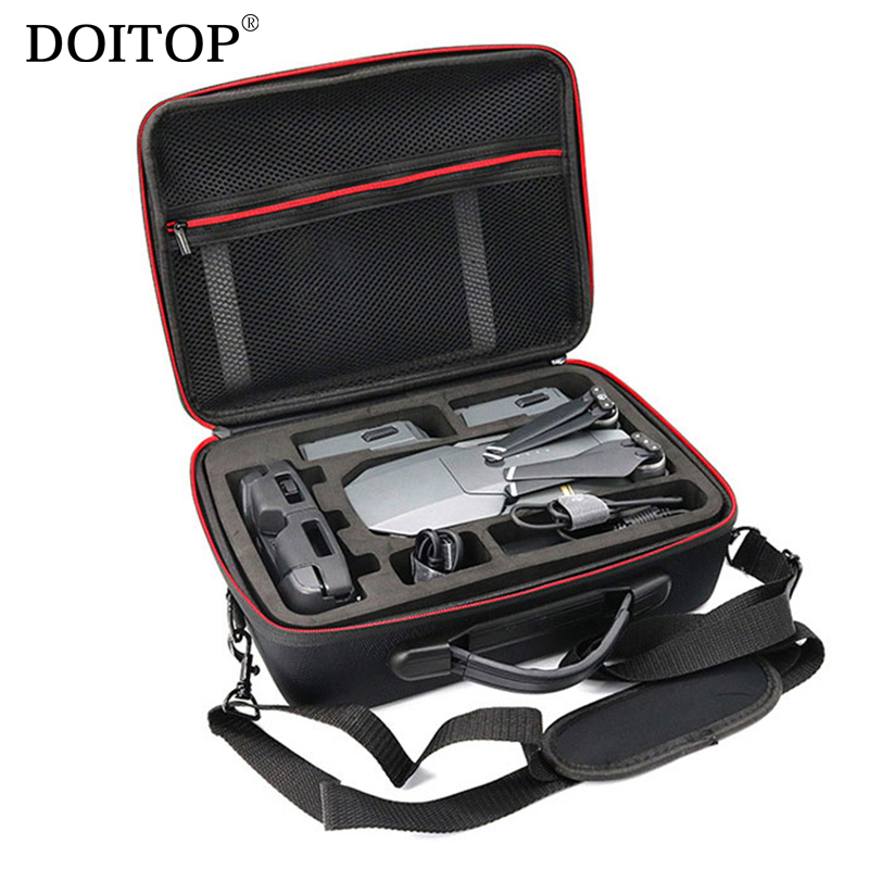 DOITOP Drone Bag For DJI MAVIC Pro Shoulder Bag Case Protector EVA Waterproof Portable Storage Box Shell Handbag For Mavic Pro 1pc drone spare parts portable handbag hard case carrying storage bag protector eva for gopro karma g6 gimbal stabilitzer