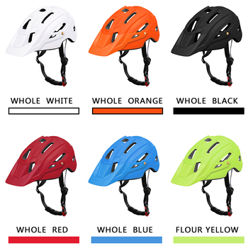 X-TIGER TRAIL XC Cycling Helmet With Hat EPS+PC Cover MTB Bike Helmet Integrally-mold Cycling Mountain Bicycle Helmet 1