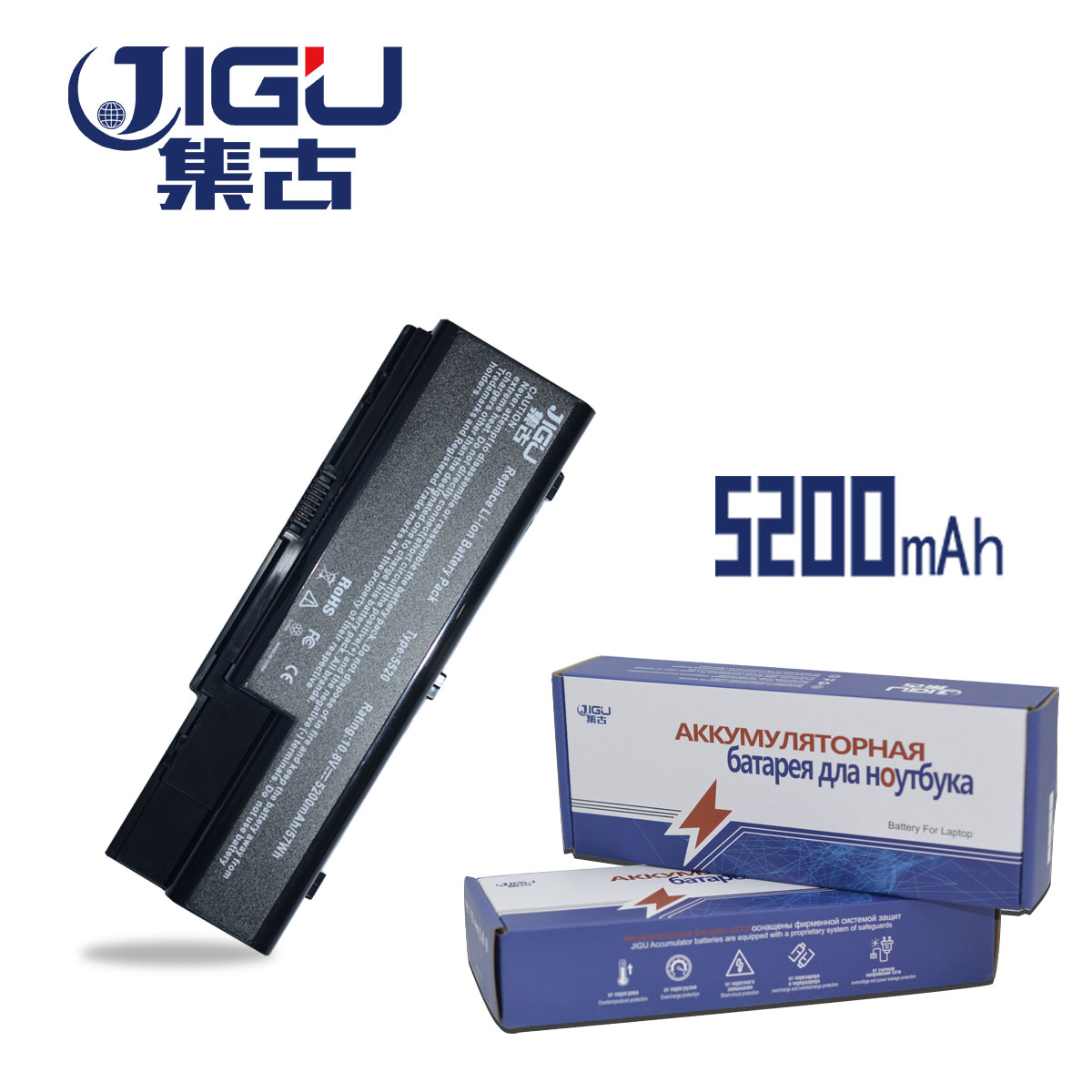 JIGU AS07B31 AS07B32 AS07B41 AS07B42 AS07B51 AS07B52 Laptop Battery For Acer Aspire 7720G 7720Z 7730 7730G 7730Z 7730ZG golooloo 14 8v battery for acer aspire 5920g 5520g 5315 as07b31 as07b32 as07b42 as07b41 as07b51 as07b52 as07b61 as07b71 as07b72