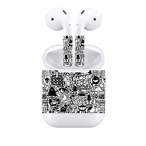 406a63e0de0 New Design Cool Skin Sticker for Apple AirPods for Earpiece Vinyl Decal