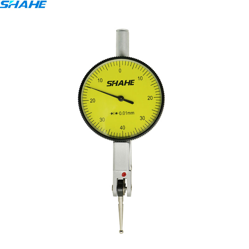 0-0.8 milímetros Lever Dial Indicator Teste Medidor de Alta Qualidade Balança de Precisão Métrica com trilhos Cauda de Andorinha mesa Alavancagem