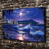 A0524 Christian Riese Lassen Waikiki Romance HD Canvas Print Home Decoration Art Painting Living Room Bedroom