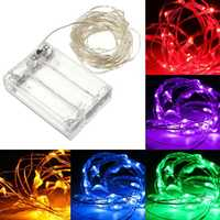 LED String lights Battery powered waterproof Fairy String Night Lights For Garland Home Christmas Wedding Party Holidays Lights