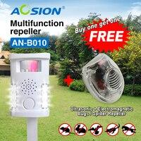 Buy AOSION High Quality Animal Repeller Ultrasonic Pest Reject Pigeon Cat Dog Bat Bird Repellent Got