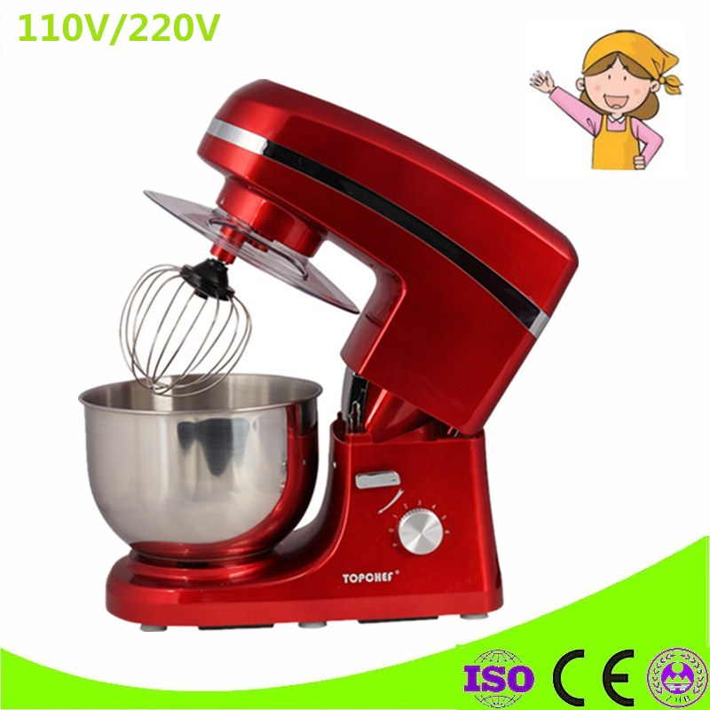 Electric Stand Food Mixer Commercial Use 5 Liters Cooking Mixer, Egg Beater, Dough Mixer Machine hot sale free shipping 7 liters electric stand mixer food mixer food blender cake egg dough mixer milk shakes milk mixer