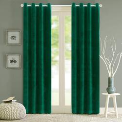 Nowoczesny jednokolorowy aksamitny zasłony zaciemniające do salonu sypialnia miękkie wygodne rolety zasłony okienne rozmiar niestandardowy zwykłe drzwi