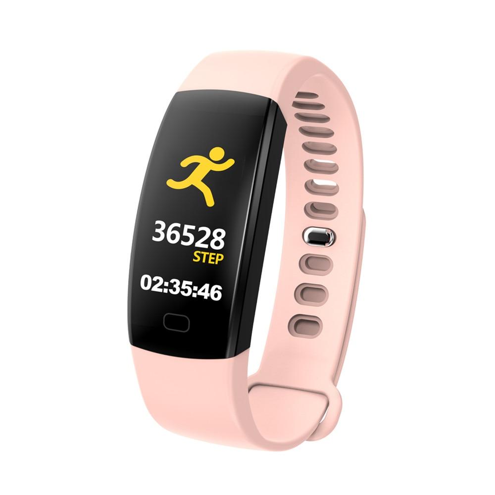F64 Fitness tracker heart rate monitor Blood pressure Smart bracelet samrt band 03