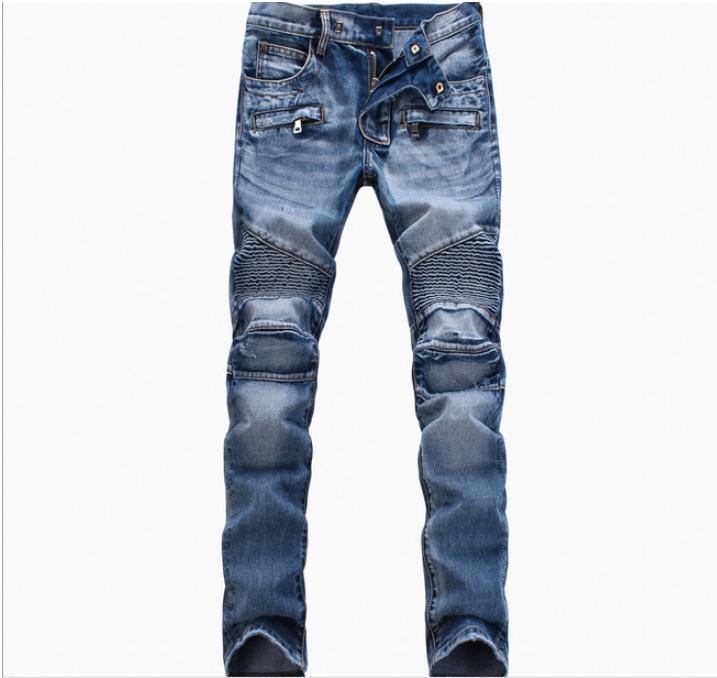 Fashion Men Jeans 2017 New Arrival Design Slim Fit Fashion Jeans For Men Quality Blue Black jeans black navy m xxl quality 2017 spring new arrival ripped jeans for men fashion brand men jeans slim fit jeans men jx01