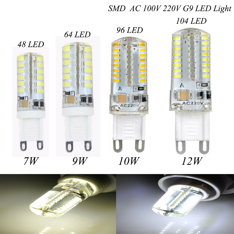new g9 led light 6w 9w 12w smd3014 mini lampada led g9 lamp corn bulb 220v bombillas led. Black Bedroom Furniture Sets. Home Design Ideas