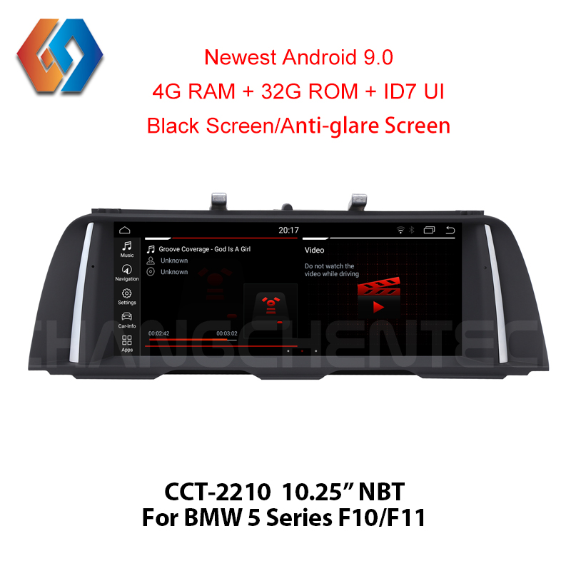 6 Core Px6 For BMW 5 Series F10 F11 Android 9 Car Multimedia GPS Navigation Touch