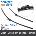 "Wiper blades for Opel Astra J Coupe (from 2012 onwards) / Estate GTC Hatchback, fit push button wiper arms only 27""+25"" HY-011"