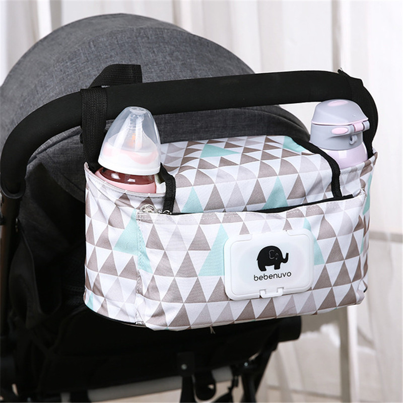 Baby Stroller Bags Large Capacity Mummy Maternity Nappy Bag For Mother Travel Diaper Nursing Hanging Storage Organizer Bag