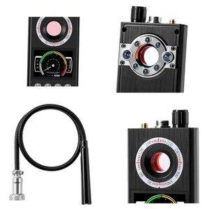 Image 5 - K68 Multifunctionele Anti Spy Detector Camera Gsm Audio Bug Finder Gps Signaal Lens Rf Tracker Laserlicht pinhole Camera Finder