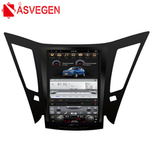 Asvegen Tesla 10.4 inch 2G+32G Vertical Screen Android 6.0 Car DVD GPS Audio Bluetooth Multimedia For Hyundai Sonata 2012-2018