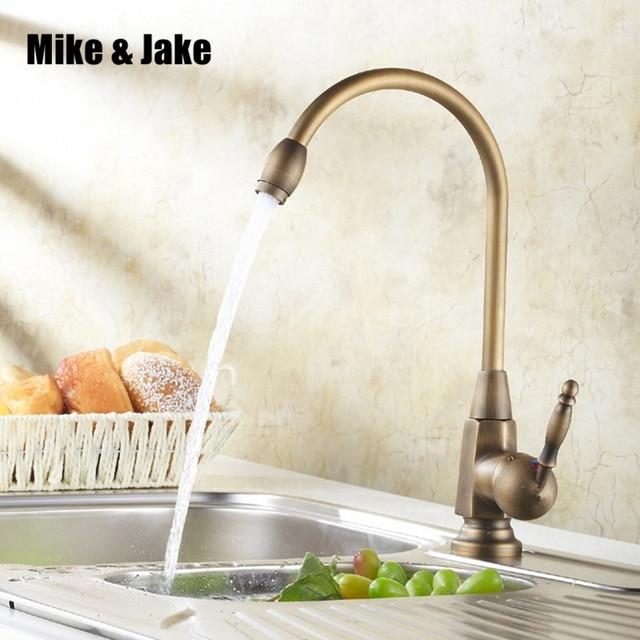 vintage kitchen faucet white table sets brass antique basin sink tap torneira banheiro mixe