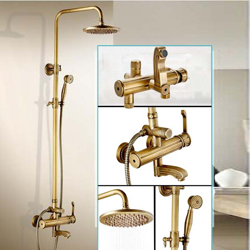Creative Design Bathroom Outdoor Bath and Shower Faucet Set Single ...